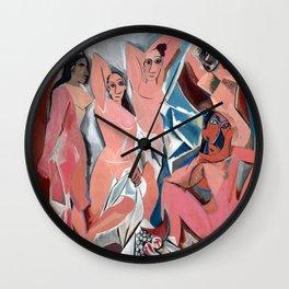 Pablo Picasso Les Demoiselles d'Avignon Wall Clock