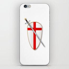 Crusaders Shield and Sword iPhone Skin