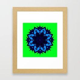 Kids Mandala Anahata Framed Art Print