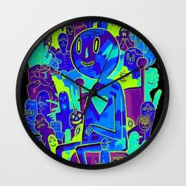 Knee-Jerk Wall Clock