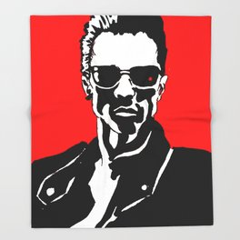 Arnold Schwarzenegger Throw Blanket
