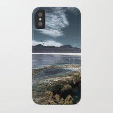 Red lagoon iPhone X Slim Case