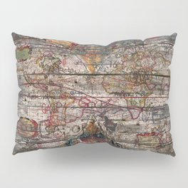 Old Map - New World Pillow Sham