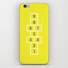 Hopscotch Yellow iPhone & iPod Skin