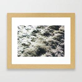 create. Framed Art Print
