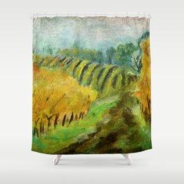 Oregon Vineyard  Shower Curtain