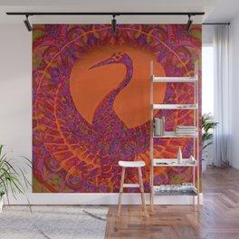 Phoenix-eternity-symbol-karma-cycle of life and death-reincarnation-spirituality Wall Mural