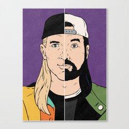 Jay & Silent Bob Canvas Print