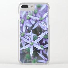 Allium Globemaster Blossoms Close-up #1 #decor #art #society6 Clear iPhone Case