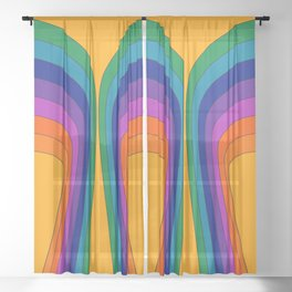 Summertime Wing Sheer Curtain