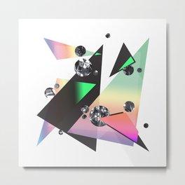 Multicolor Orgasm Metal Print