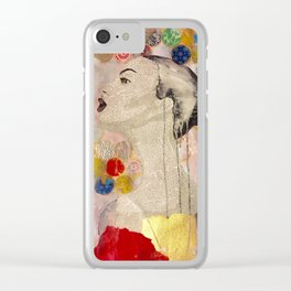 Angie Clear iPhone Case