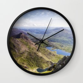 Snowdon Pyg and Miners Track Wall Clock