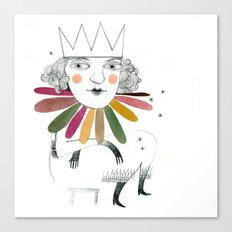queen margherita Canvas Print
