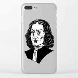 Antonio Vivaldi Clear iPhone Case