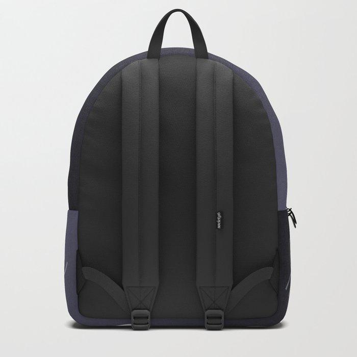 Spiral line up-Purple Backpack