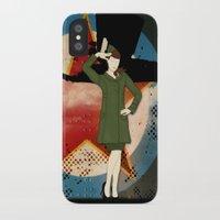 army iPhone & iPod Cases featuring Army Girl by Aleksandra Mikolajczak