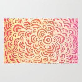 Target Abstract Rug