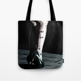 legs & projection Tote Bag