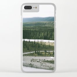 Forest XXX Clear iPhone Case