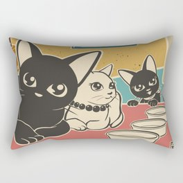 We are waiting Rectangular Pillow