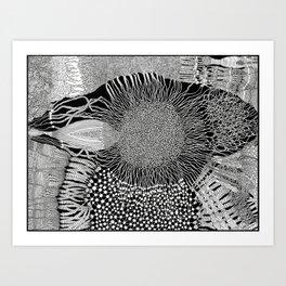 Tears from I Art Print