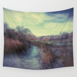 Whimsical Fields of Winter Wall Tapestry