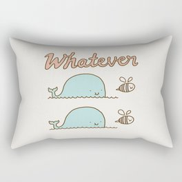Que Sera Sera Rectangular Pillow