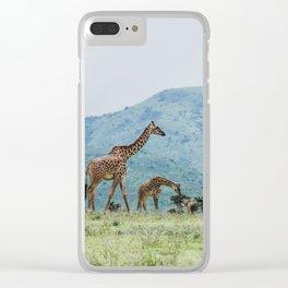 Ngorongoro Crater, Tanzania IV Clear iPhone Case
