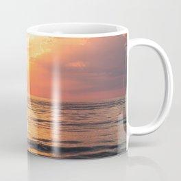 Los Angeles California beach at sunset Coffee Mug