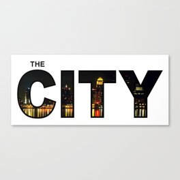 The City - Version 9 Canvas Print