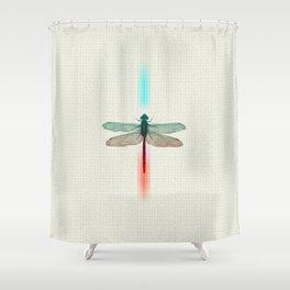 La Libélula Shower Curtain