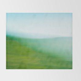 Mountains and Sea Throw Blanket