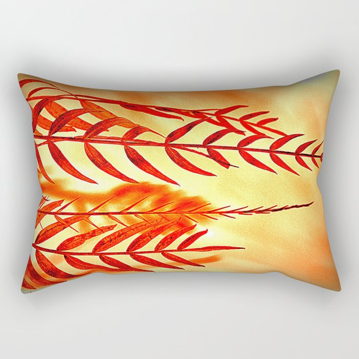 Nature willow Rectangular Pillow