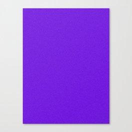 Indigo Violet Saturated Pixel Dust Canvas Print