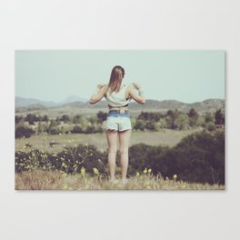 Sometimes We Just Don't Care Canvas Print