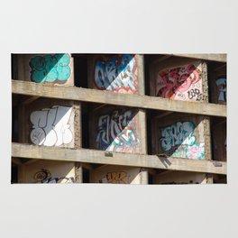 Cocrete Graffiti Rug