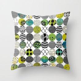 Dotty Pattern Throw Pillow