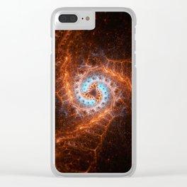 Fractal Art XXXIX Clear iPhone Case