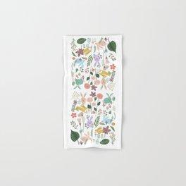Springtime In The Bunny Garden Of Floral Delights Hand & Bath Towel
