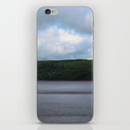 Usk Reservoir iPhone Skin