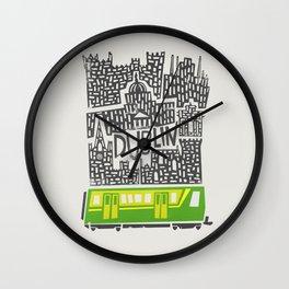 Dublin Cityscape Wall Clock