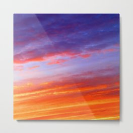 The arrival of night Metal Print