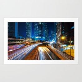 Hong Kong | Cities Art Print