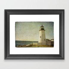 Pemaquid Lighthouse Framed Art Print