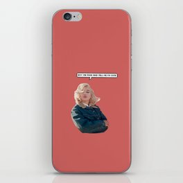 marilyn #1 iPhone Skin
