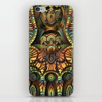 totem iPhone & iPod Skins featuring Totem by Lyle Hatch