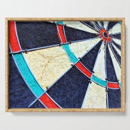 Dartboard Serving Tray