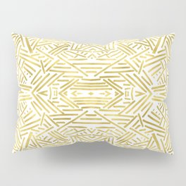 Radiate - Gold Pillow Sham