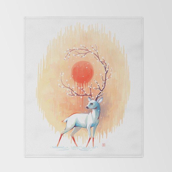 Spring Spirit Throw Blanket